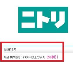 ニトリ優待WELBOX